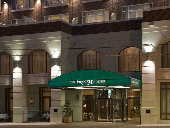 The Franklin Hotel: We invite you to step right off the street and into our cozy hotel.  When you're ready to explor