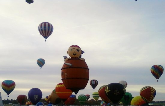 Lake George Region, Нью-Йорк: 2010 Balloon Festival