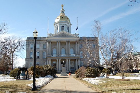 Concord, NH: New Hampshire State House - Another View