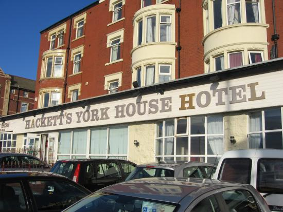 Photo of Hacketts York House Hotel Blackpool