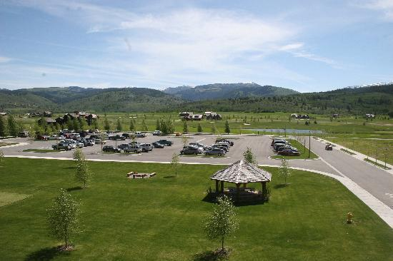 Teton Springs Lodge and Spa: parking