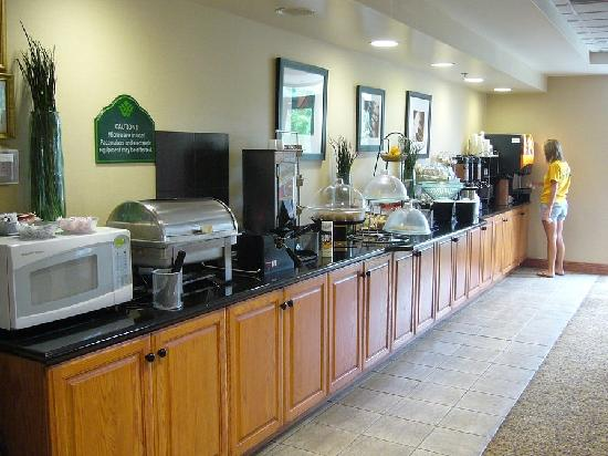 Wingate by Wyndham Nashville Airport TN: Breakfast selection