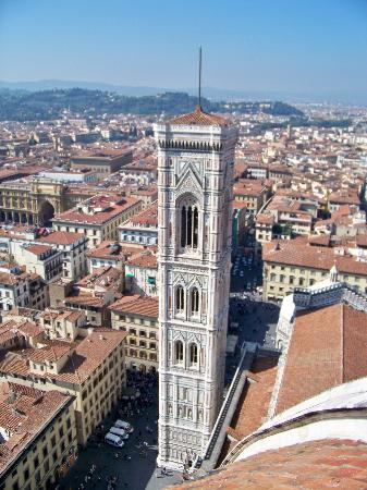 Hotel David: Breathtaking view of Florence/top of Duomo
