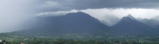 Pai, Thailand: Monsoon rain coming