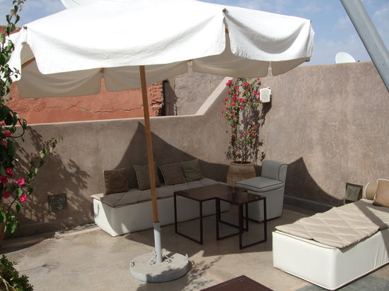 Riad Dar One: Rooftop Terrace