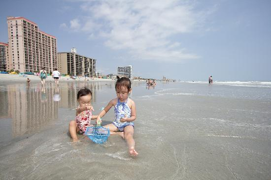My daughters on Myrtle beach