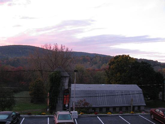 Quality Inn near Mountain Creek: View From Room Window