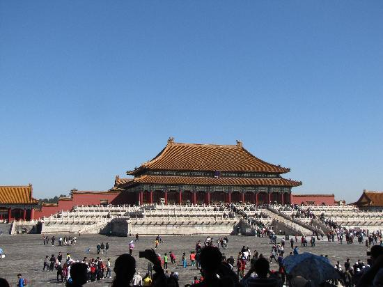 Beijing, China: The Hall of Supreme Harmony in the Forbidden City