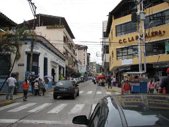 Merida, Venezuela: Looking East from Plaza Bolivar