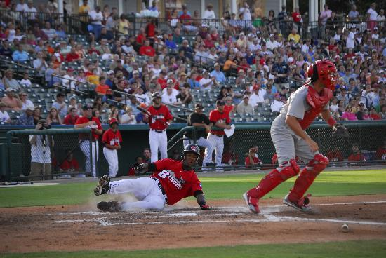 Frisco RoughRiders AA Baseball at Dr Pepper Ballpark
