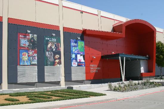 New Frisco Discovery Center museum complex