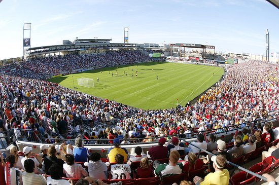 Frisco, TX: Pizza Hut Park, home of FC Dallas soccer