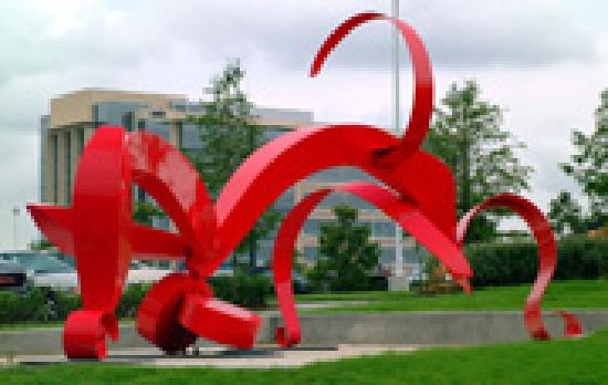 Frisco, TX: Over 100 Sculptues on public display