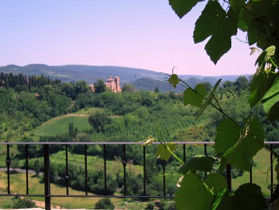 Urbino, Italy: View from our roof garden