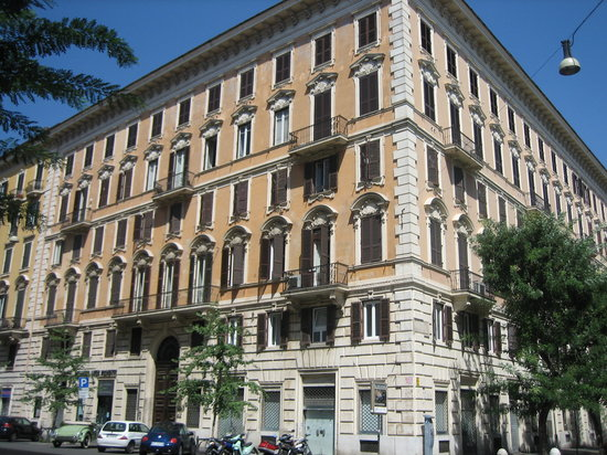 A Peace of Rome: The Building