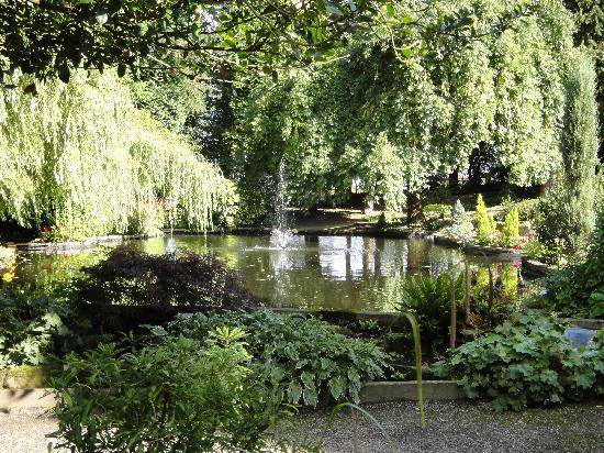 East Lodge Country House Hotel: View of the pond