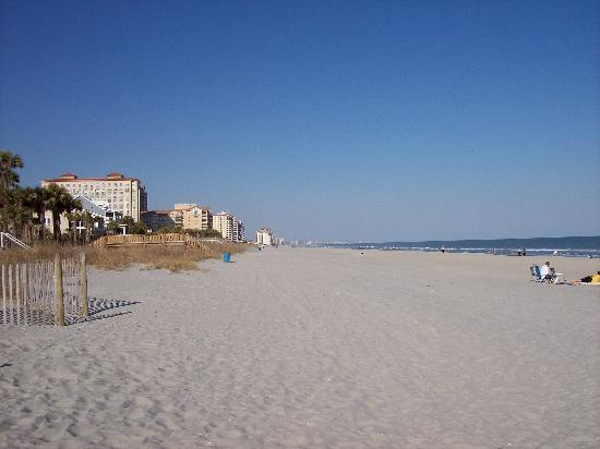 Myrtle Beach, Caroline du Sud : Looking to the north