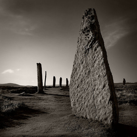 Oban, UK : Ring of Brodgar, Shetland islands