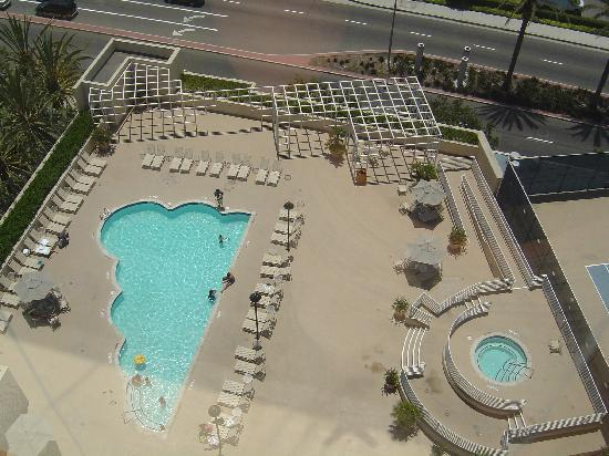 Pool picture of hyatt regency orange county garden for Leslie pool garden grove