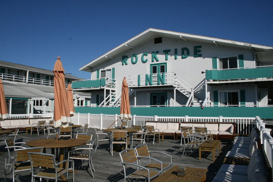 Rocktide Inn: Schner Sitzplatz