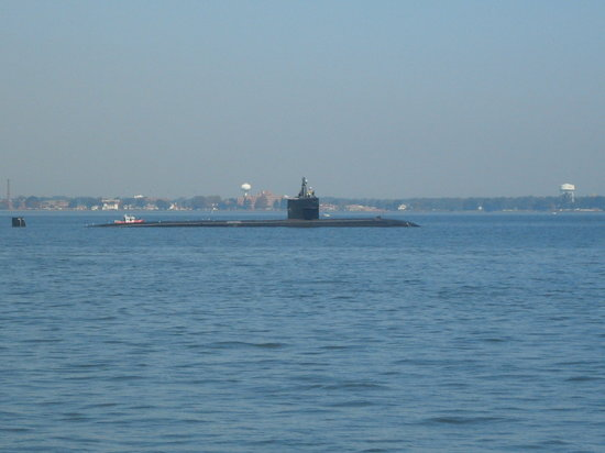 Hampton, VA: LA Class Nuclear Submarine