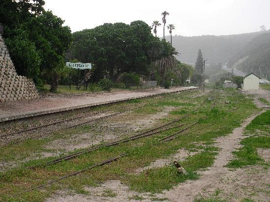 Palms Wilderness Retreat: Rail Station - Don't bother waiting for a train.