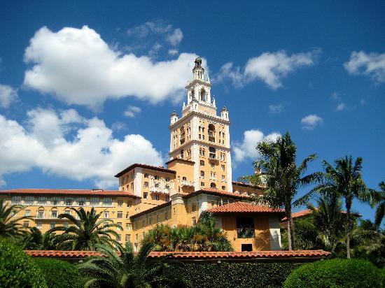 Biltmore Hotel: The amazingly beautiful hotel tower!