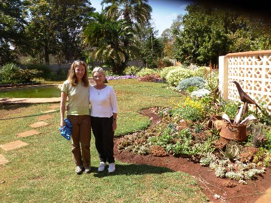Harare, Zimbabwe: Christine, the proprietor