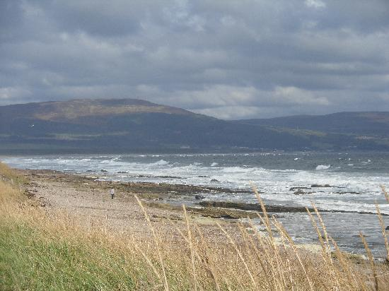 Dornoch, UK: View from Cromarty Caravan
