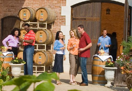 Grapevine is home to nine winery tasting rooms