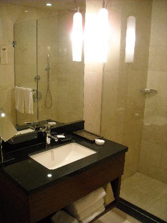 sink & nice shower: From Review: Millennium Knickerbocker Hotel Chicago on