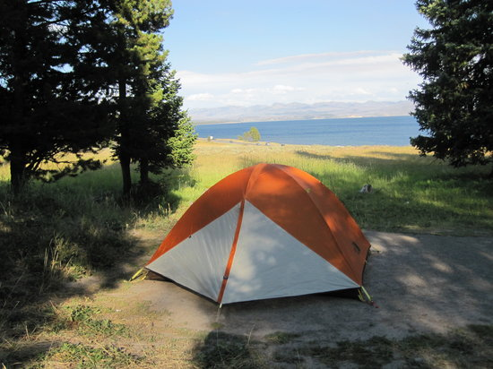 Photo of Bridge Bay Campground Yellowstone National Park