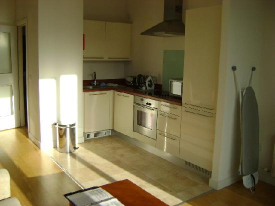 Kitchen Picture Of Premier Apartments Dublin Sandyford Dublin Tripadvisor