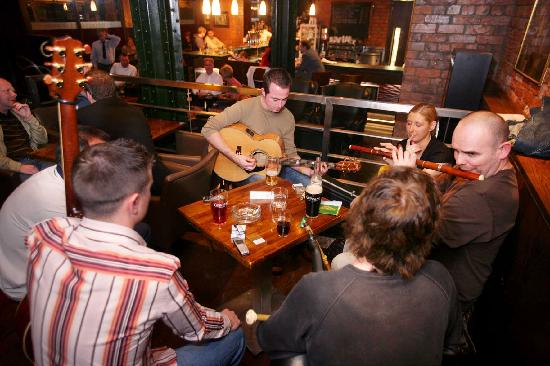 Traditional Irish Music At The Kitchen Bar Picture Of