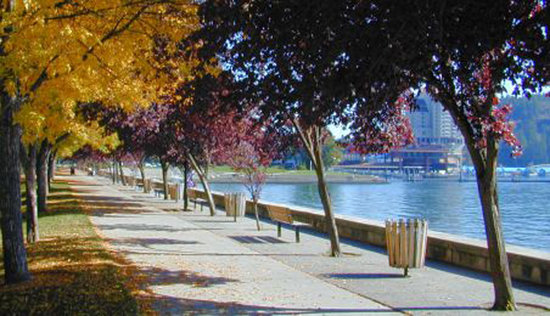 ‪‪Coeur d'Alene‬, ‪Idaho‬: Coeur d'Alene in the fall‬