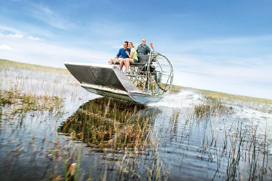 Floride : Florida by airboat