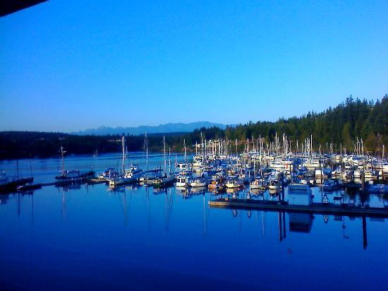 Port Ludlow, WA: View of the Marina from room 302