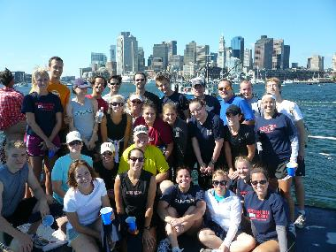 Freedom Trail Run Post-Run Ferry Ride