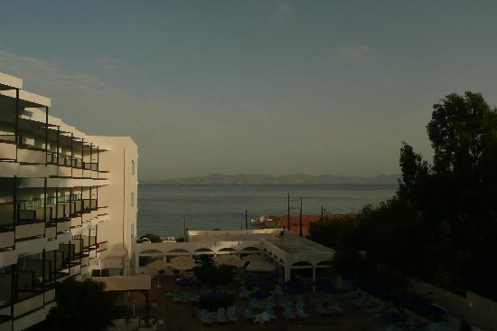 Belair Beach Hotel: ROOM WITH A VIEW OF TURKEY