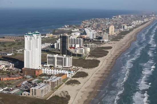 Île de South Padre, TX : South Padre Island Aerial