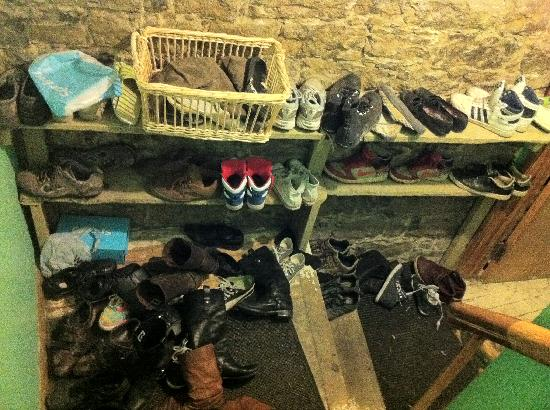 La Maison du Patriote: The Shoe Rack