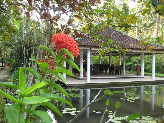 Jiwa Damai Retreat: Open-Air Speisesaal