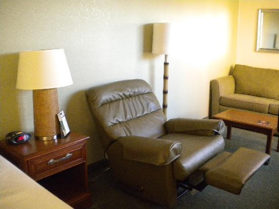 Extended Stay America - Detroit - Novi - Orchard Hill Place: comfortable recliner
