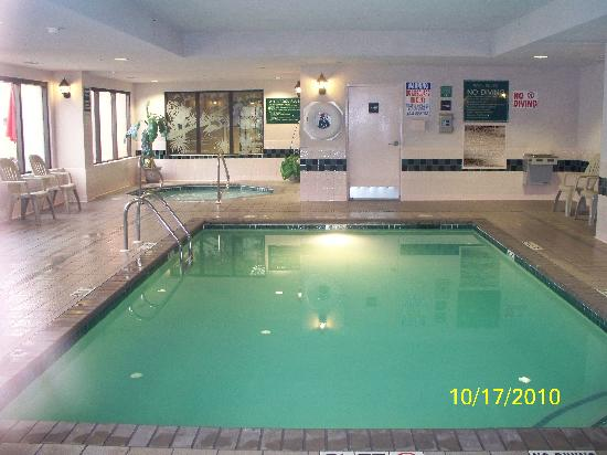 Hampton Inn Waco North: Indoor pool and spa