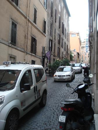 Hotel Delle Regioni: street