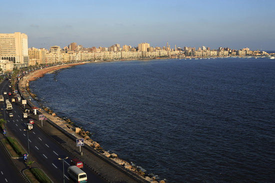 Alexandria, Egypt: sea road