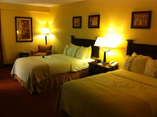 Holiday Inn Roanoke Valley View: Comfortable beds, bedding