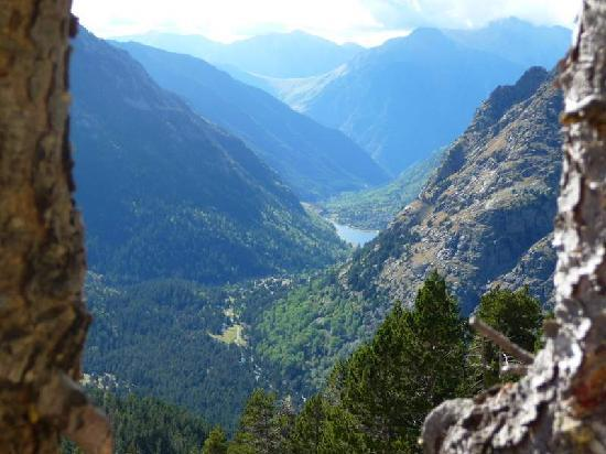 Espot, Spain: view on the way down