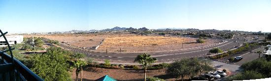 Hyatt Place Tempe/Phoenix Airport: Panoramic view from room
