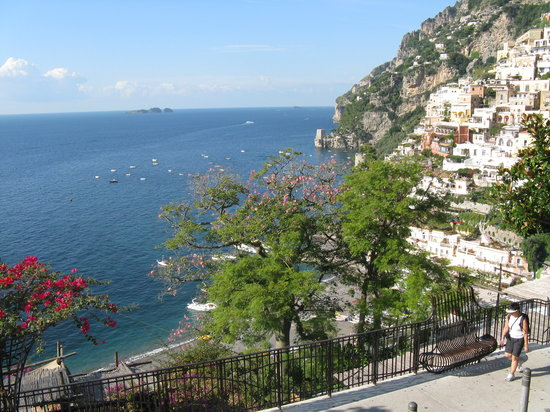 Hotel - Albergo California Positano: View from the hotel